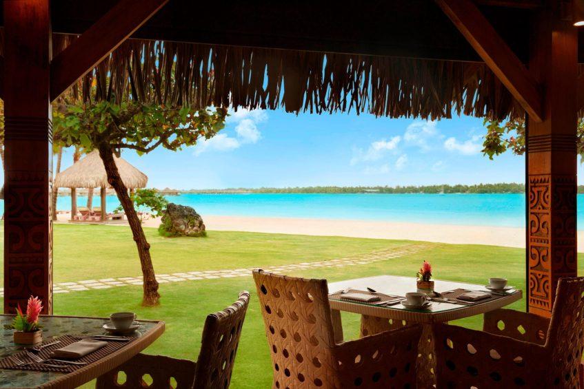 The St. Regis Bora Bora Resort - Bora Bora, French Polynesia - Te Pahu Grass