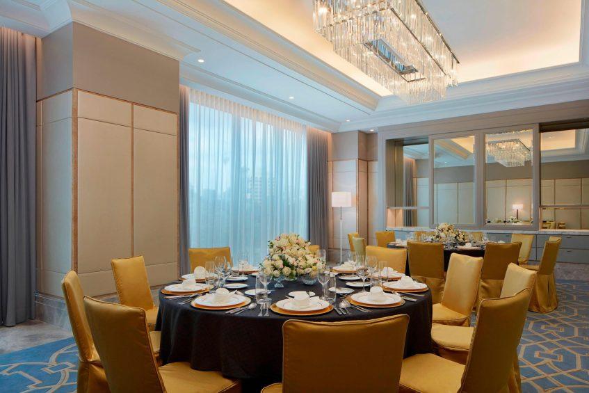 The St. Regis Kuala Lumpur Luxury Hotel - Kuala Lumpur, Malaysia - Exchange Room Tables