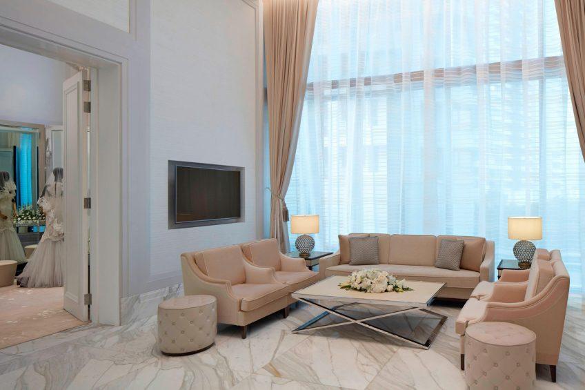 The St. Regis Kuala Lumpur Luxury Hotel - Kuala Lumpur, Malaysia - The Salon Living Area