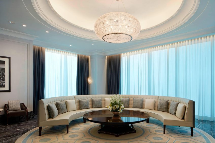 The St. Regis Kuala Lumpur Luxury Hotel - Kuala Lumpur, Malaysia - Exchange Lounge