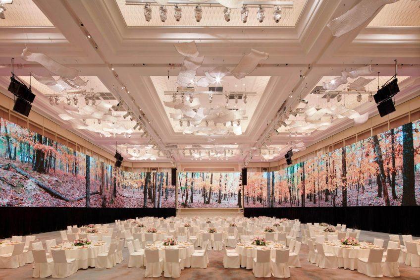 The St. Regis Kuala Lumpur Luxury Hotel - Kuala Lumpur, Malaysia - Grand Ballroom Video Screens