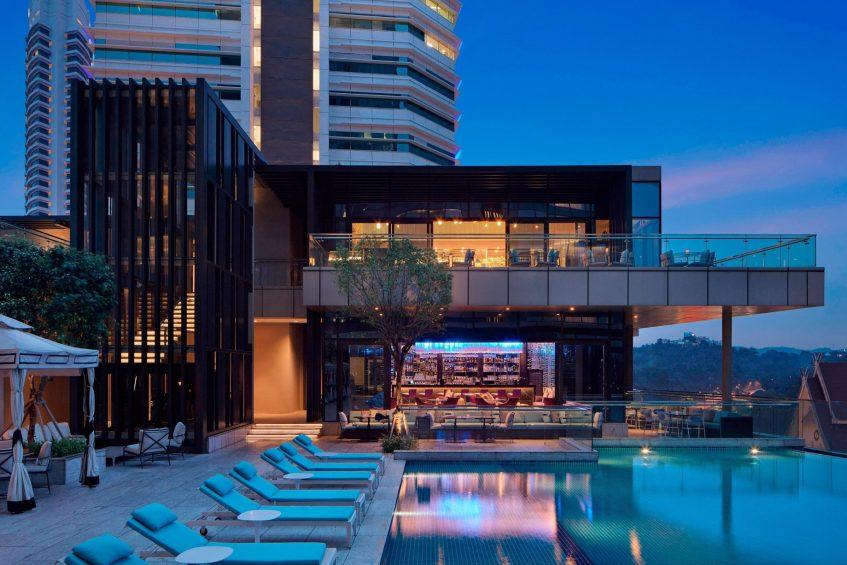 The St. Regis Kuala Lumpur Luxury Hotel - Kuala Lumpur, Malaysia - Crystal Terrace