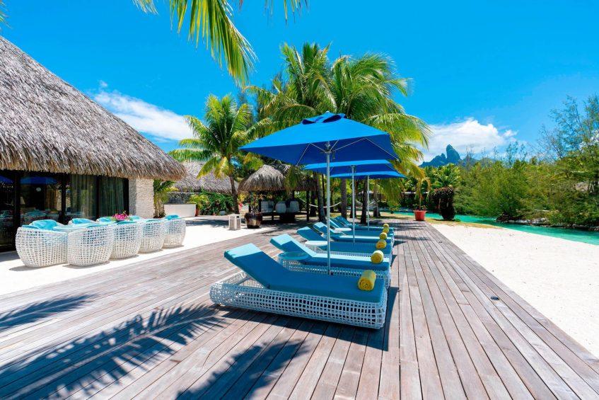 The St. Regis Bora Bora Resort - Bora Bora, French Polynesia - Royal Estate Deck