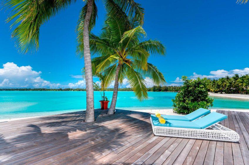 The St. Regis Bora Bora Resort - Bora Bora, French Polynesia - Royal Estate Beachfront Deck