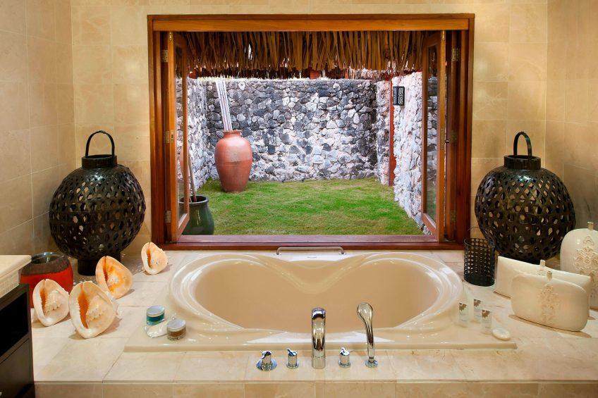 The St. Regis Bora Bora Resort - Bora Bora, French Polynesia - Royal Estate Master Bathroom