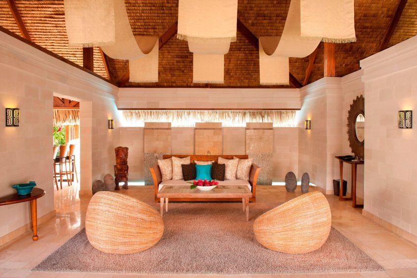 The St. Regis Bora Bora Resort - Bora Bora, French Polynesia - Royal Estate Family Room