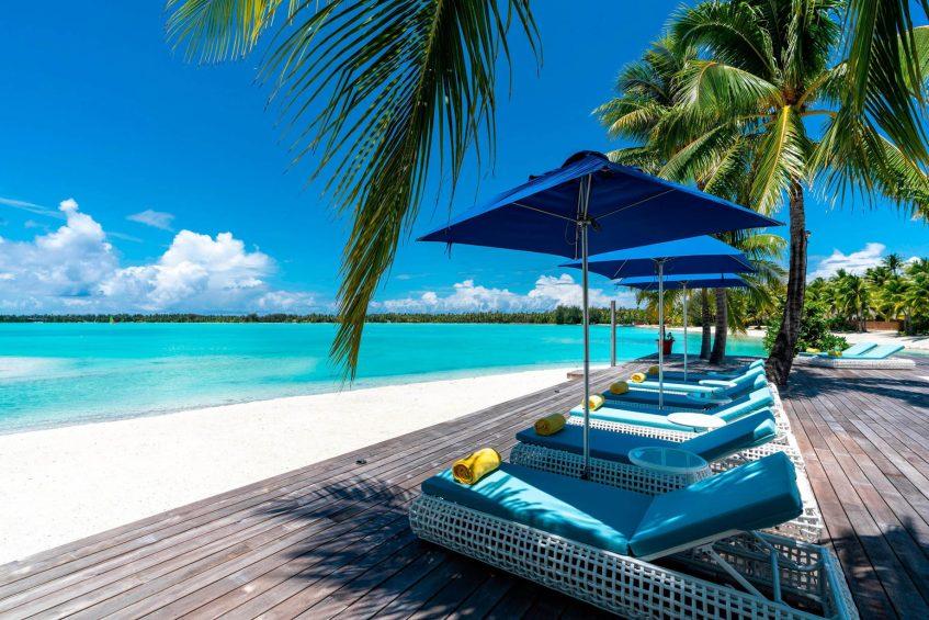 The St. Regis Bora Bora Resort - Bora Bora, French Polynesia - Royal Estate Lounge Chairs