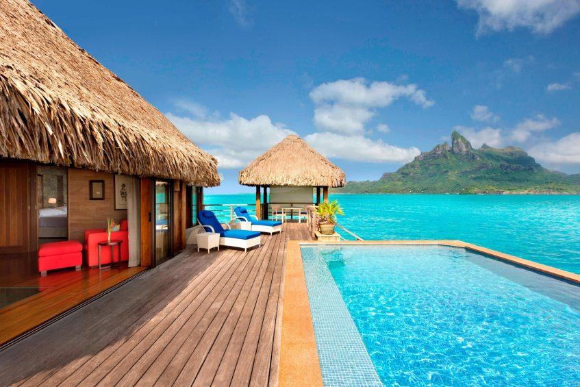 The St. Regis Bora Bora Resort - Bora Bora, French Polynesia - Royal Overwater Otemanu Villa with Pool