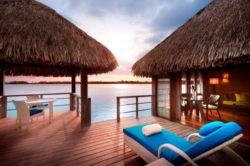 The St. Regis Bora Bora Resort - Bora Bora, French Polynesia - Superior Overwater Villa Deck