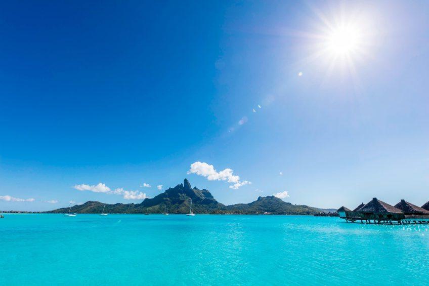The St. Regis Bora Bora Resort - Bora Bora, French Polynesia - Resort Main Dock View