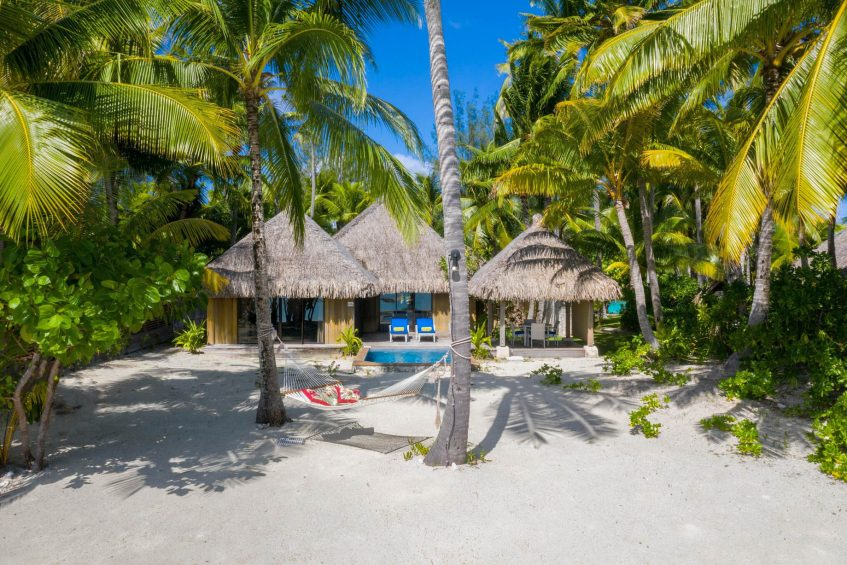 The St. Regis Bora Bora Resort - Bora Bora, French Polynesia - Beach Front Suite Villa Exterior