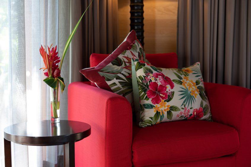 The St. Regis Bora Bora Resort - Bora Bora, French Polynesia - Beach Front Suite Villa With Pool Details