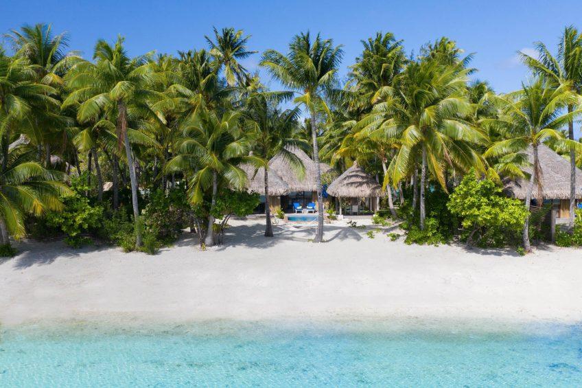 The St. Regis Bora Bora Resort - Bora Bora, French Polynesia - Beach Front Suite Villa With Pool Exterior View