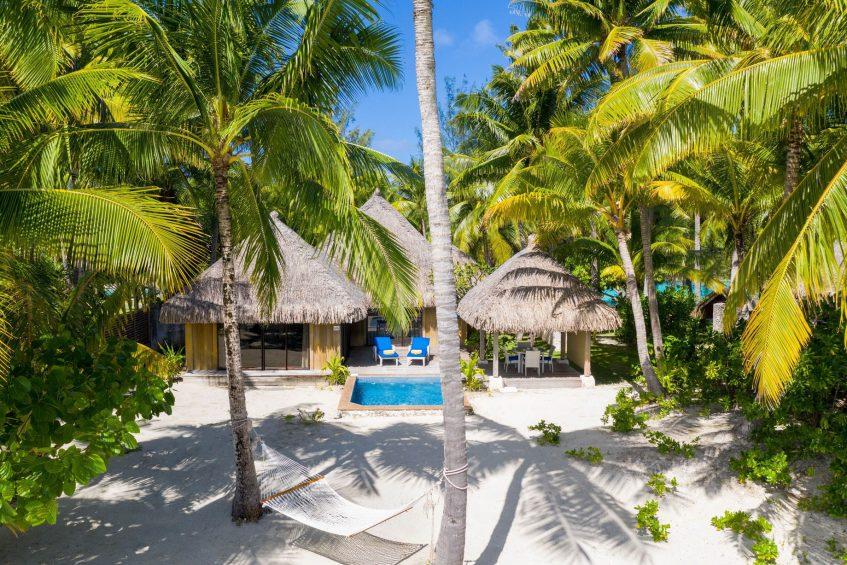 The St. Regis Bora Bora Resort - Bora Bora, French Polynesia - Beach Front Suite Villa With Pool Exterior