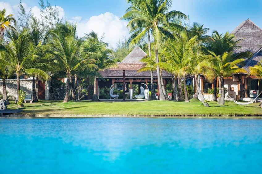 The St. Regis Bora Bora Resort - Bora Bora, French Polynesia - Iridium Spa Front Lobby