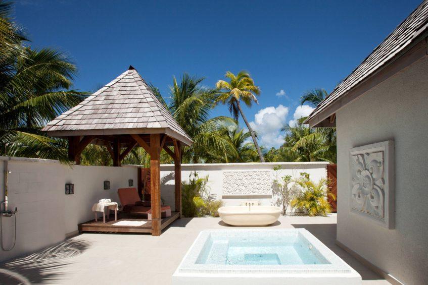 The St. Regis Bora Bora Resort - Bora Bora, French Polynesia - Iridium Spa Exterior Treatment Area