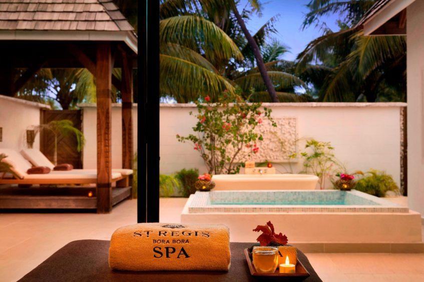 The St. Regis Bora Bora Resort - Bora Bora, French Polynesia - Iridium Spa Lounge Area