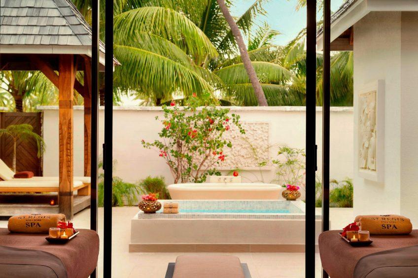 The St. Regis Bora Bora Resort - Bora Bora, French Polynesia - Iridium Spa Private Pool