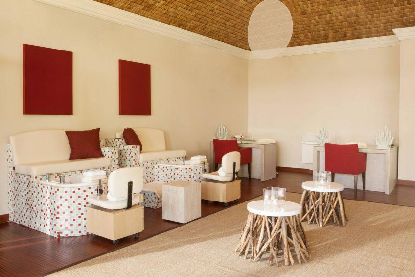 The St. Regis Bora Bora Resort - Bora Bora, French Polynesia - Iridium Spa Relax Room Interior