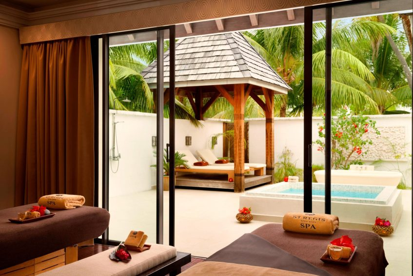 The St. Regis Bora Bora Resort - Bora Bora, French Polynesia - Iridium Spa Treatment Area