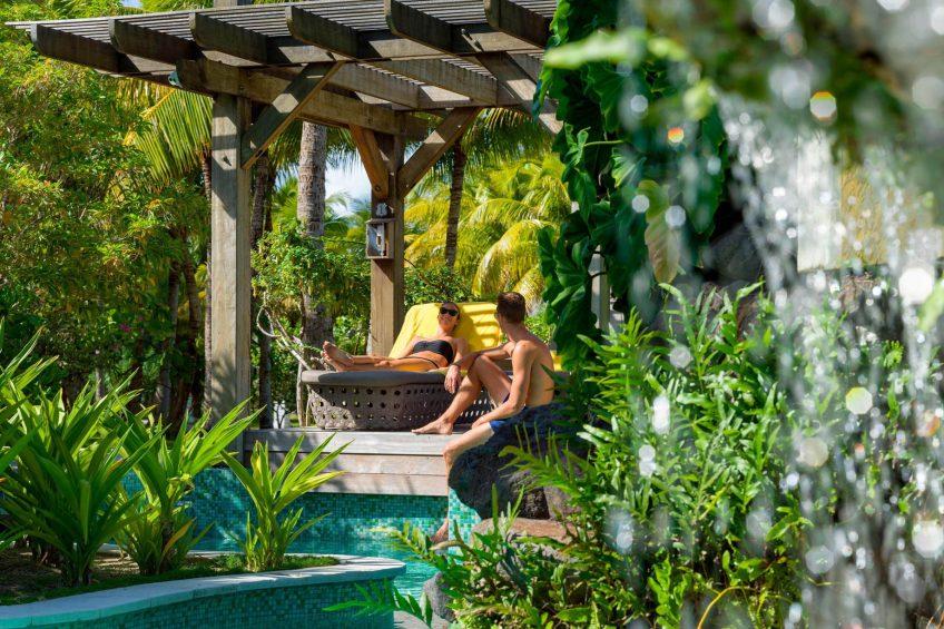 The St. Regis Bora Bora Resort - Bora Bora, French Polynesia - Oasis Pool Lounging