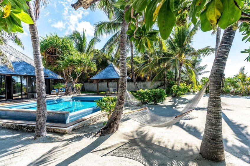 The St. Regis Bora Bora Resort - Bora Bora, French Polynesia - Two Bedrooms Garden Suite Villa Pool