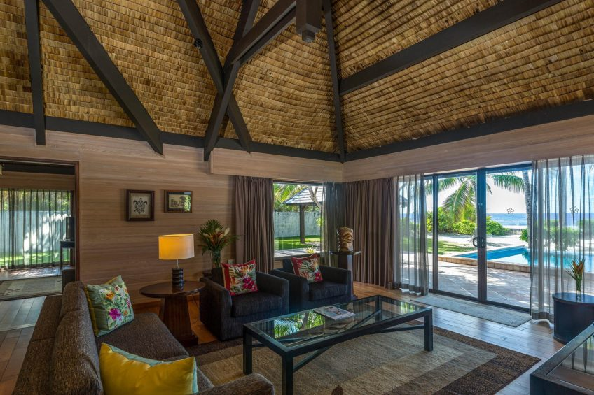 The St. Regis Bora Bora Resort - Bora Bora, French Polynesia - Two Bedrooms Garden Suite Villa With Pool Lounge