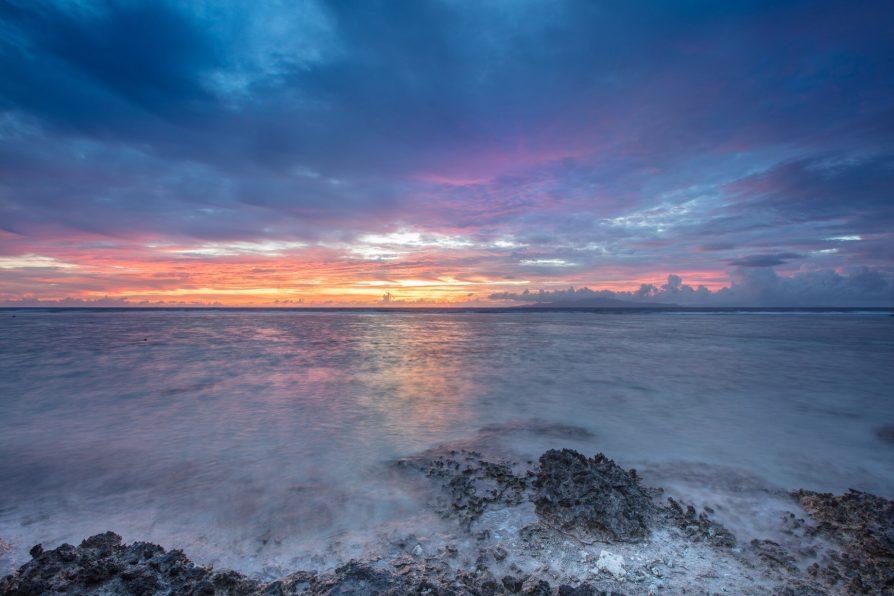 The St. Regis Bora Bora Resort - Bora Bora, French Polynesia - Reefside Sunset