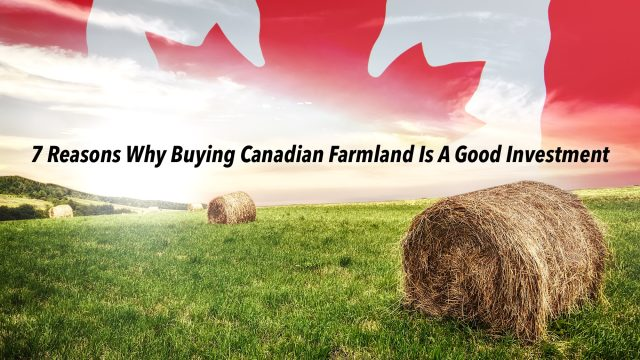 7 Reasons Why Buying Canadian Farmland Is A Good Investment